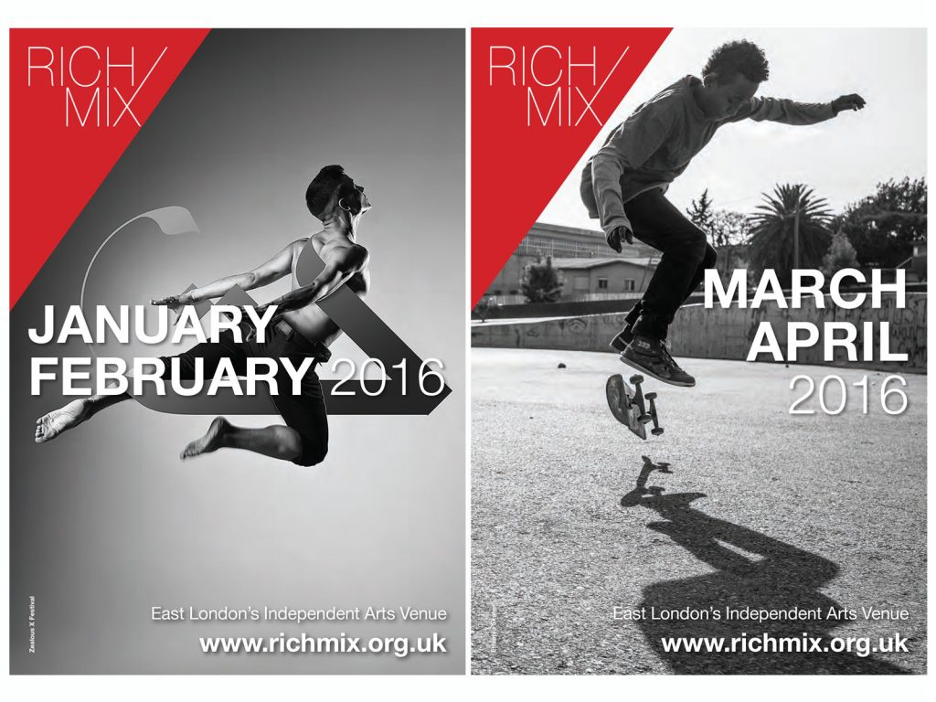 Rich Mix Brochure design
