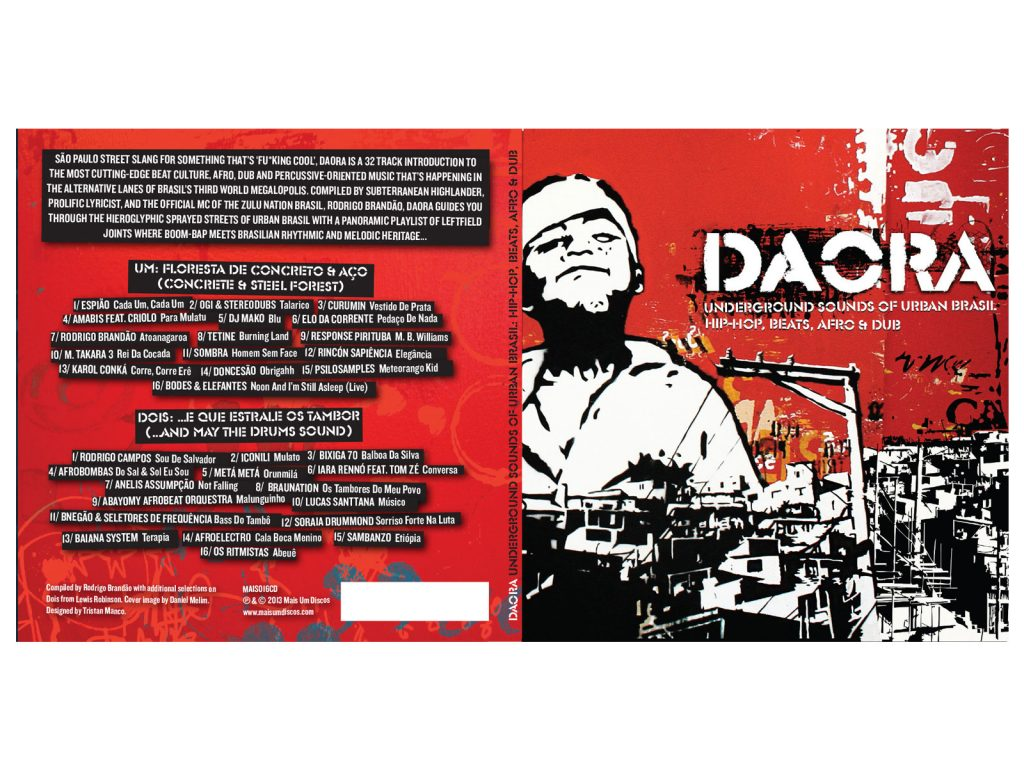 Daora Music packaging