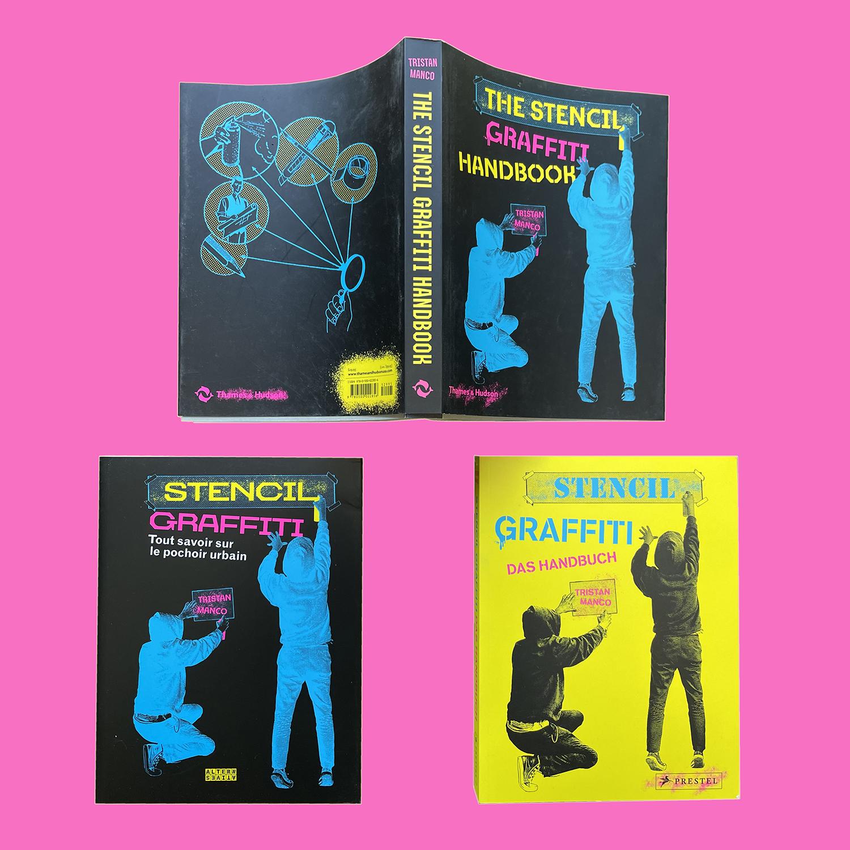 Stencil Graffiti Handbook by Tristan Manco